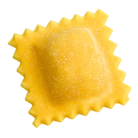cheese raviolo